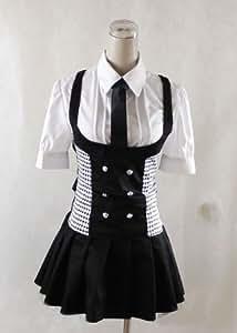 Boku Ss Shirakiin Ririchiyo Karuta Roromiya Cosplay Costume , Size M