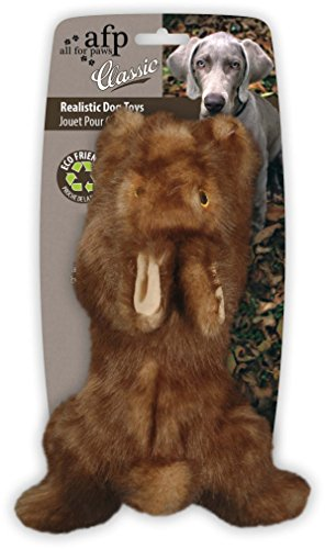 All for Paws Classic Brown Rabbit Pet Toys, Small (Best Dog For Hunting Rabbits)