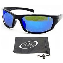 Anti Reflective Mirrored Polarized Sunglasses for Men and Women.
