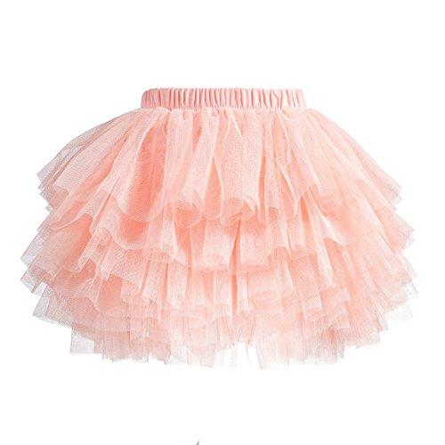 (Tutu Skirt for Baby Girl Toddler 6 Layered Tulle Skirts 1-8T)