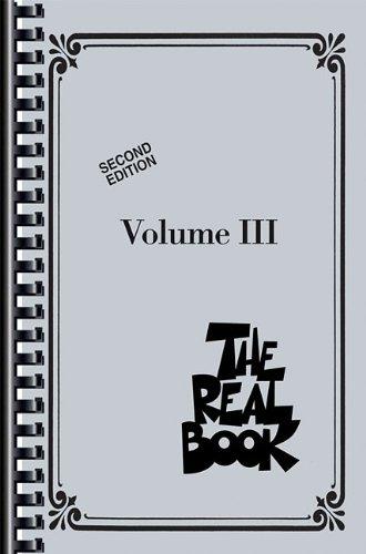 The Real Book - Volume III - Mini Edition: C Edition (Real Books (Hal Leonard)) pdf epub