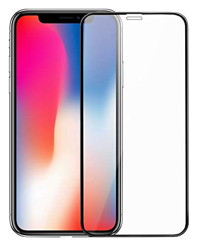 best cheap 7ed98 5615a iPhone X iPhone XS Glass Invisible + Full Tempered Glass Screen Protector  [Newest Dust-Free Version] for Apple iPhone X & iPhone XS (5.8 Inch)