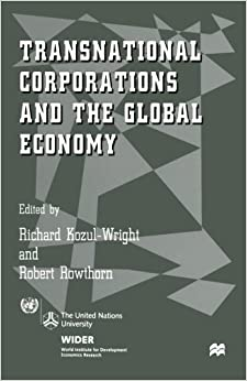 Book Transnational Corporations and the Global Economy