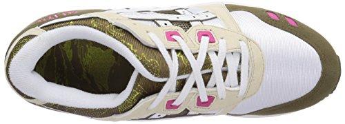 Lyte sportive Gel Brown III White Scarpe Asics Unisex adulto Zq56wqp
