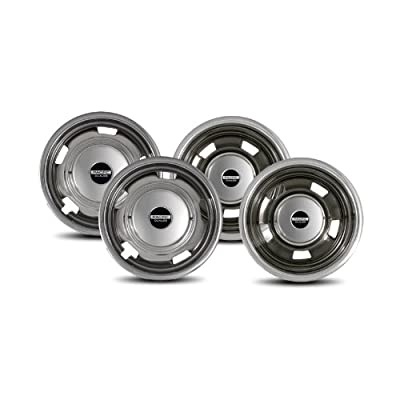 Pacific Dualies 44-1708 Polished 17 Inch 8 Lug Stainless Steel Wheel Simulator Kit for 2003-2020 Dodge Ram 3500 Truck: Automotive