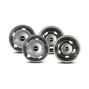 Pacific Dualies 44-1708 Polished 17 Inch 8 Lug Stainless Steel Wheel Simulator Kit for 2003-2014 Dodge Ram 3500 Truck