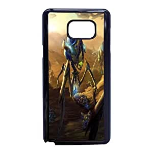 Samsung Galaxy Note 5 phone case Black starcraft ii legacy of the void RRA6997324