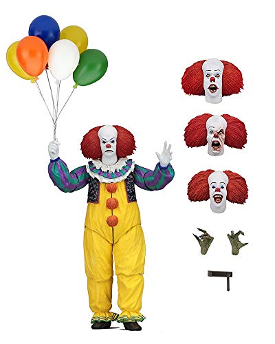(PAPRING Pennywise Action Figures 6 inch PVC Hot Figure Horror Movie Big Toy Model Large Doll Gift Christmas Halloween Birthday Gifts Cute Animal Cool New Decoration Collection Collectible for)
