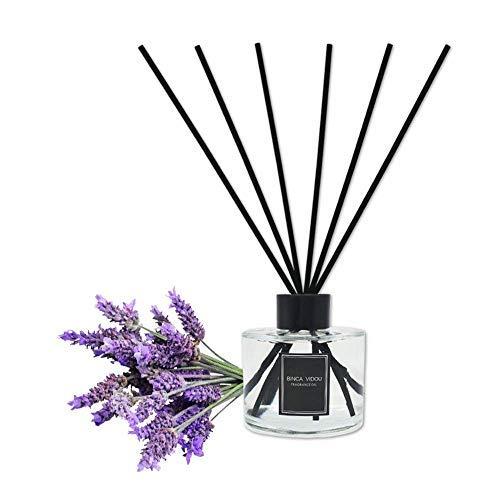 Binca Vidou Reed Diffuser Set Lavender Reed Oil Diffusers fo