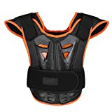Freebily Children Kids Body Armor, Body Chest Spine Vest Protective Gear for Cycling Skiing Riding Skateboarding