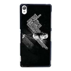 Caja del teléfono celular Funda Negro Q8V4TT funda caja del teléfono celular personalizado 3D Drake Q6O3Co Funda Sony Xperia Z3