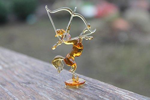Glass centaur Blown Art Collectible Figurine sagittarius