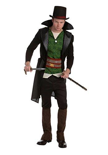 Palamon Men's Assassin's Creed Jacob Frye Classic Costume, Green, ()