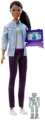 Barbie Career of the Year Robotics Engineer Doll, Brunette