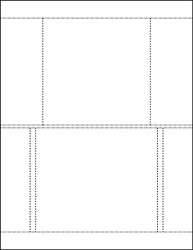 100 Sheets CD/DVD Jewel Case Inserts and Trayliner Combo Sets Matte White (Ace 20522) - Labels Jewel Case Inserts