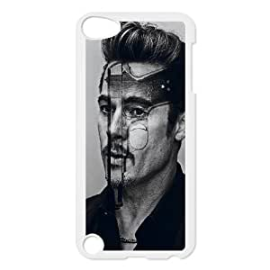 D-PAFD Customized Print Brad Pitt Pattern Hard Case for iPod Touch 5