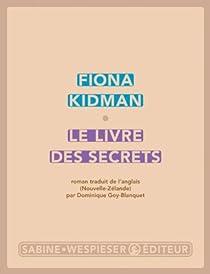 Le livre des secrets par Kidman
