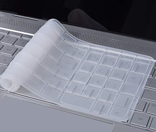 CaseBuy Clear Keyboard Skin for HP Envy x360 15.6 m6-w m6-p m6-ae m6-aq m6-ar, m6-w010dx w011dx m6-w101dx w102dx w154nr m6-p113dx p014dx m6-aq003dx aq103dx aq105dx m6-ar004dx