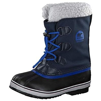 SOREL Kids Yoot Pac Nylon (Little Kid/Big Kid) Boys Shoes Collegiate Navy/Super Blue (3 M US Big Kid')