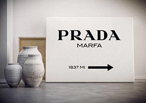 【木枠付き】 PRADA/プラダ MARFA ゴシップガール キャンバス アート ポスター ブランド パロディ canvas-p-0003 (Sサイズ) B00UOBPAV4 Sサイズ Sサイズ