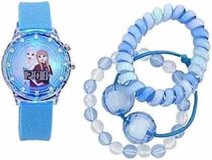 Frozen Digital Watch and Bracelet Set