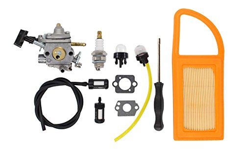 XtremeAmazing Carburetor Air Filter Fuel Carb Repower Kit for Stihl BR500 BR550 BR600...