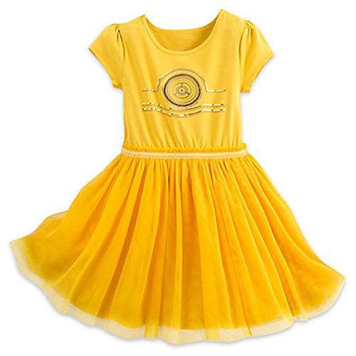 Disney C-3PO Dress for Kids - Star Wars (L (10/12))]()