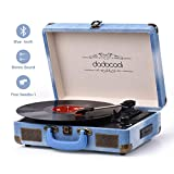 Best Record Players - Vinyl Record Player, dodocool Vintage Turntable 3-Speed Review