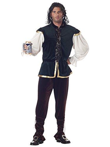 California Costumes Men's Tavern Man Costume, Green/Brown,