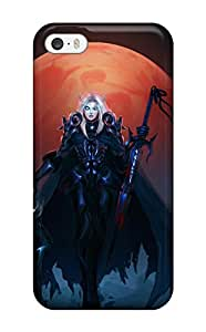 Hot SK5E9X87XO05HET5 Top Quality Case Cover For Iphone 5/5s Case With Nice Blood Elf Death Knight By Timo Paananen Appearance