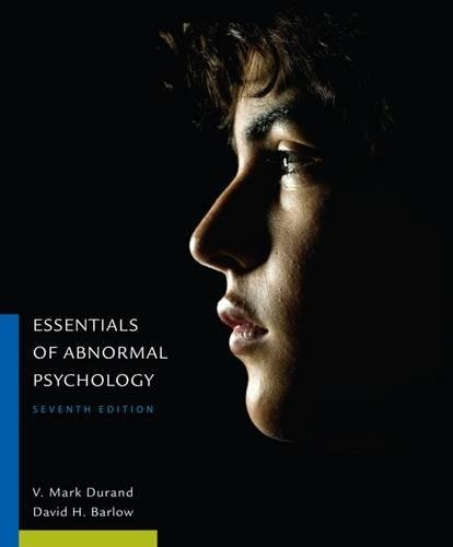 Essentials of Abnormal Psychology cover