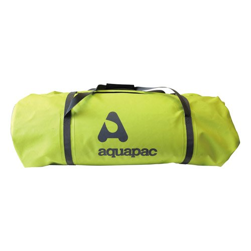 AQUAPAC, Borsone sportiva/da viaggio resistente all'acqua Trail-Proof Duffle, Verde (Acid Green/Cool Grey), 91,0 x 35,0 x 35,0 cm, 90 litri