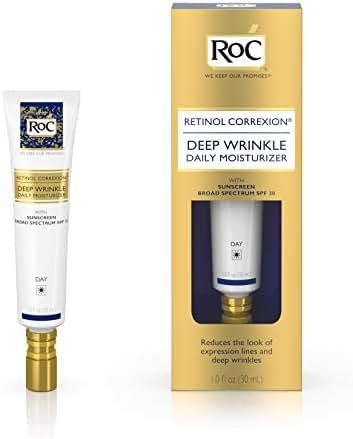 RoC Retinol Correxion Deep Wrinkle Daily Anti-Aging Moisturizer with Sunscreen Broad Spectrum SPF 30, 1 fl. oz
