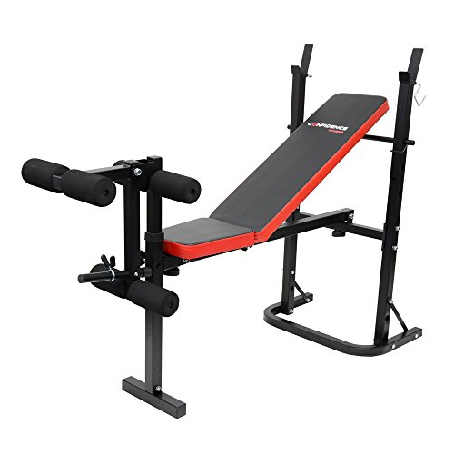 Confidence Fitness Adjustable Weight Lifting Bench V2 by Confidence