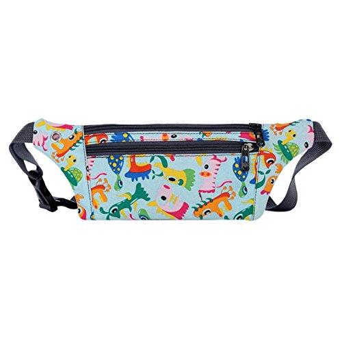 Everpert Cartoon Women Fanny Bum Packs Waist Belt Pouch Money Wallet Chest Handbags Animal 2