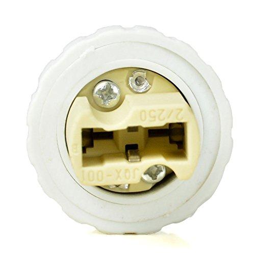 4pz MENGS/® E14 a G9 Base LED Lampada Convertitore Adattatore PBT Materiale