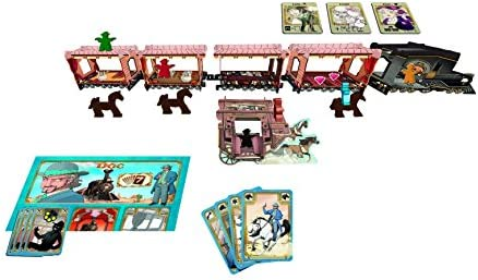 Ludonaute 217672 Colt Express - Juego de Mesa: Raimbault, Christophe, Valbuena, Jordi: Amazon.es: Juguetes y juegos