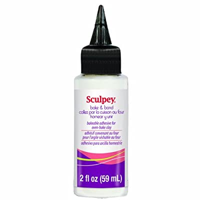 Sculpey ABB02 Bake and Bond, 2 fl Oz (59ml)
