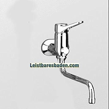 Kludi Wannen-Einhebelmischer Logo Neo mit schwenkbarem Auslauf 250 mm Tele-Handbrause geschlossener Hebel 375920575 verchromt