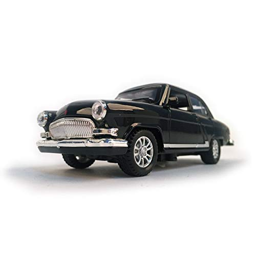 Diecasts & Toy Vehicles - Diecast Car Volga GAZ-21 1:32 Scale Vintage Classics Alloy Car Model Vehicle Collectible Toy Pull Back Car with Sound and Light - by SINAM - 1 PCs from SINAM