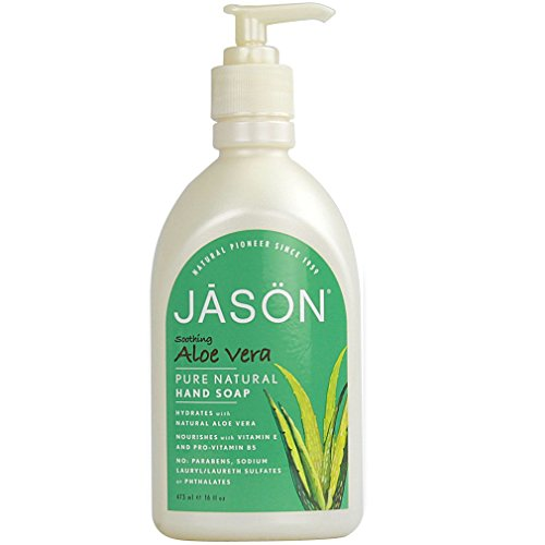 (Jason Soothing Aloe Vera Pure Natural Hand Soap, 16 Fluid Ounce)