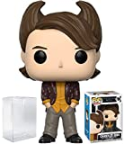 Funko Pop! Television: Friends - 80's Hair Chandler Bing Vinyl Figure (Bundled with Pop Box Protector Case)