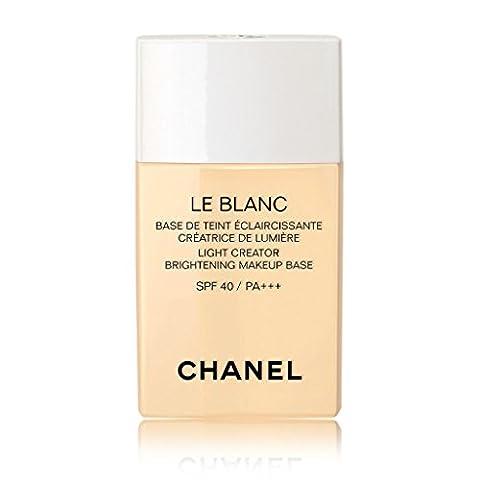 CHANEL LE BLANC LIGHT CREATOR BRIGHTENING MAKEUP BASE SPF 40/PA +++ # 20 MIMOSA (Beauty Renew Illuminating)