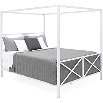 Amazon Com Zinus Patricia Metal Framed Canopy Four Poster