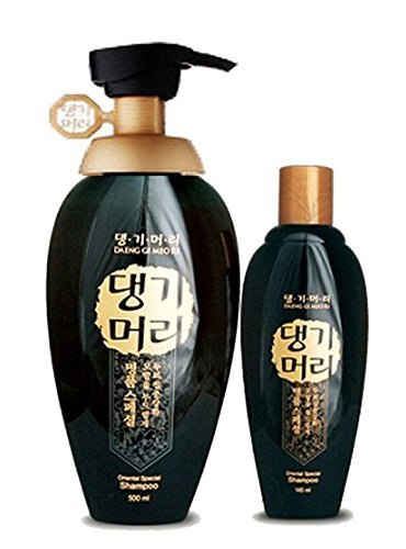 Doori Daeng Gi Meo Ri Oriental Black Shampoo Set (500ml+1...