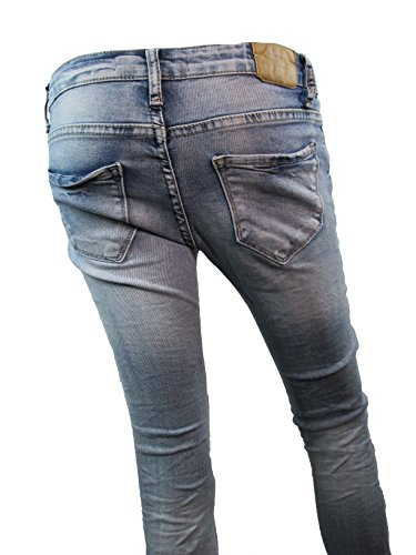 Jeans Stone Lexxury Denim Washed Donna dRnftq