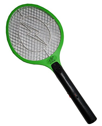 Fly Bully Electric Swatter - Rechargeable Mosquito, Fly Killer and Bug Zapper Racket