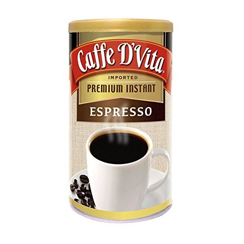 Caffe D'Vita Imported Instant Espresso, 3 Ounce Canister from Caffe D'Vita