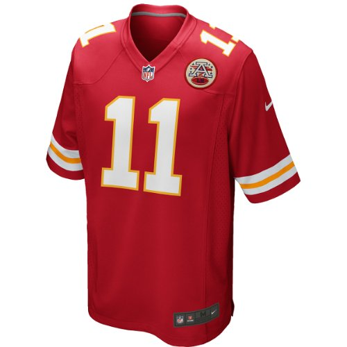 Alex Smith Kansas City Chiefs Youth Game Jersey. (Red) Medium