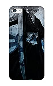 Fashion Glarep-4949-qzitnno Case Cover Series For Iphone 5c(anime Bleach Anime Ichigo)